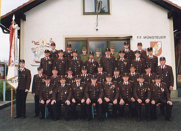 FF Münsteuer Mannschaft 1999